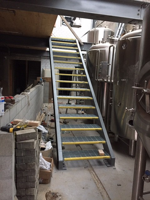 eruption brewery stairs